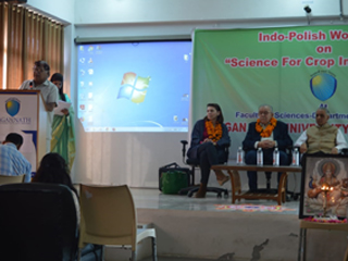 Indo-Polish Workshop on Science for Crop Improvement